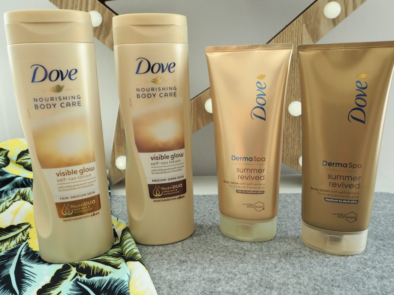 Dove Dermaspa Summer Revived review