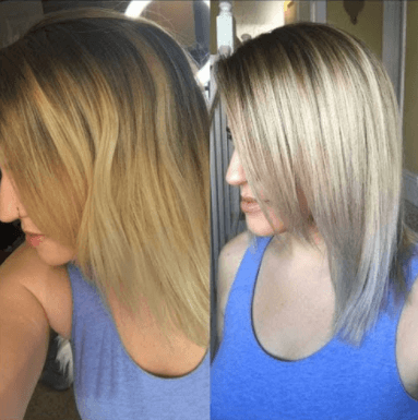 Bleach London Smoky Shampoo Results