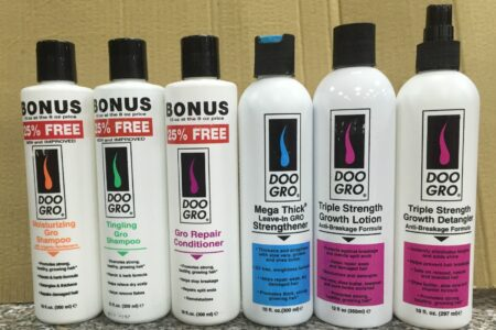 Doo Gro Hair growth Products Reviews for Natural Hair