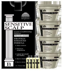 Straight Request Sensitive Scalp Relaxer