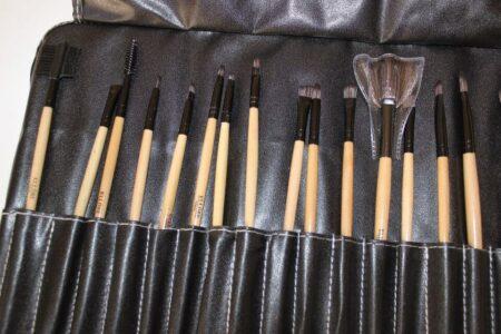 Ellore Femme 24-Piece Makeup Brush Set