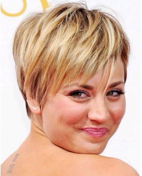 Hairstyles for Round and Chubby Faces 40 year old