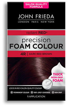 John Frieda Precision Foam, Dark Reddish Brown best Auburn Hair Dye
