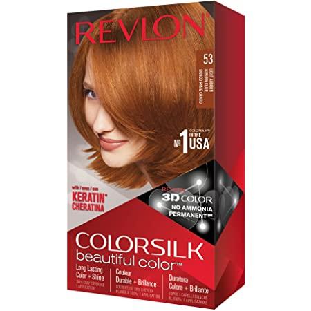 Revlon Colorsilk Beautiful Color, 53 Light Auburn