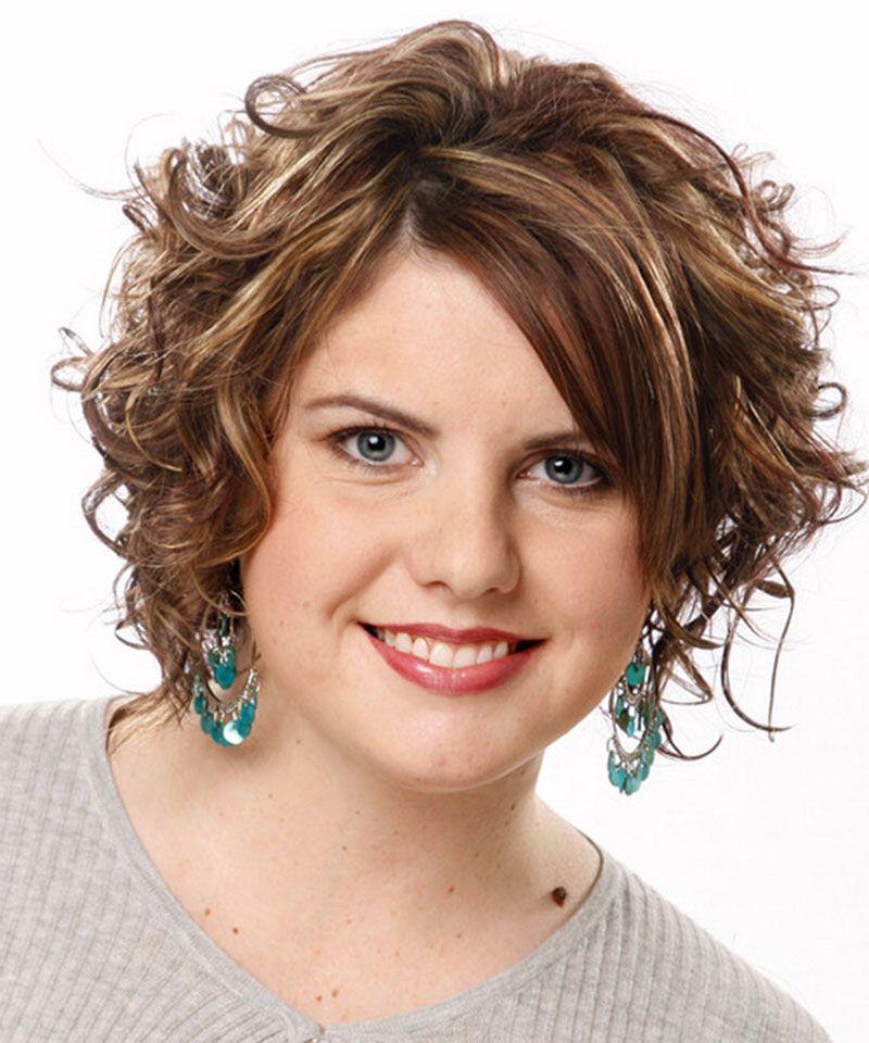 Short Haircut for Overweight Women Over 40